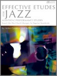 Effective Etudes For Jazz - Eb Baritone Saxophone - Book with CD