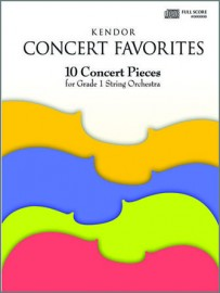 Kendor Concert Favorites - Full Score (CD included)