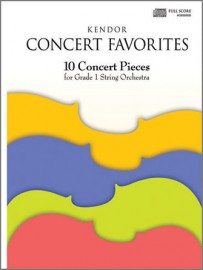 Kendor Concert Favorites - Viola