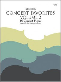 Kendor Concert Favorites, Volume 2 - Cello