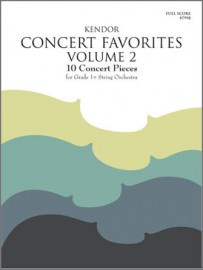 Kendor Concert Favorites, Volume 2 - Full Score