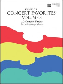 Kendor Concert Favorites, Volume 3 - Full Score