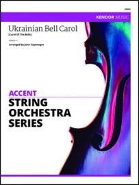 Ukrainian Bell Carol (Carol Of The Bells)  (Digital Download Only)
