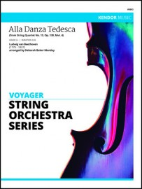 Alla Danza Tedesca (from String Quartet, Op. 130, Mvt. 4) (NEW - Not Available Yet)