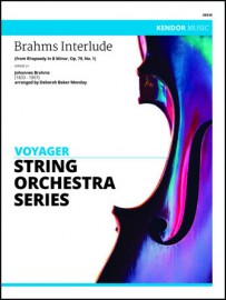 Brahms Interlude (from Rhapsody In B Minor, Op. 79, No. 1) (Digital Download Only)