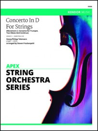 Concerto In D For Strings (Movement 2, Concerto For Trumpet, Two Oboes And Continuo)