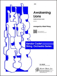 Awakening Lions (traditional Canton music) (Digital Download Only)