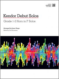 Kendor Debut Solos - Horn in F with MP3s