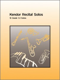 Kendor Recital Solos - Bb Tenor Saxophone - Solo Book with CD