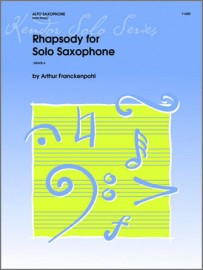 Rhapsody For Solo Saxophone (Digital Download Only)