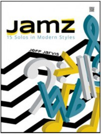 Jamz (15 Solos in Modern Styles) - Tenor Saxophone with MP3s