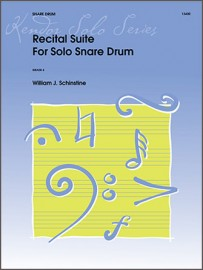 Recital Suite For Solo Snare Drum (Digital Download Only)