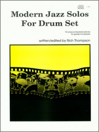 Modern Jazz Solos For Drum Set (Book with CD)