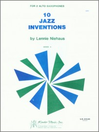 10 Jazz Inventions (altos) (Out of Stock - Available Soon)