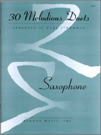 30 Melodious Duets (2 Bb or 2 Eb Saxophones)