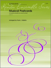 Musical Postcards (10 Saxophone Quartets From Around The World) (Digital Download Only)