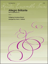 Allegro Brillante (from Divertimento IV) (Digital Download Only)