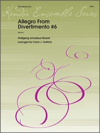 Allegro From Divertimento #6 (Digital Download Only)