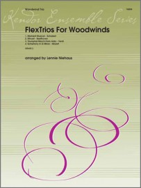 FlexTrios For Woodwinds (playable by any three woodwind instruments)