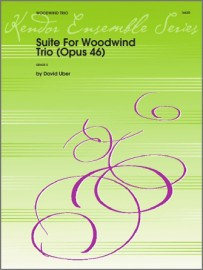 Suite For Woodwind Trio (Opus 46) (Digital Download Only)