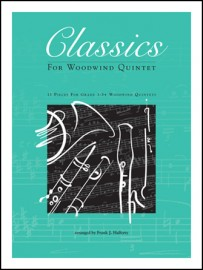 Classics For Woodwind Quintet - Bb Bass Clarinet (opt.)