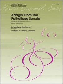 Adagio From The Pathetique Sonata (Themes From Movement II, No. 8, Op. 13)