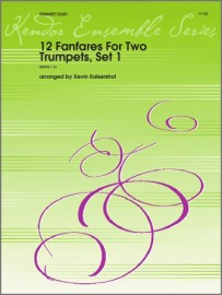 12 Fanfares For Two Trumpets, Set 1 (Digital Download Only)
