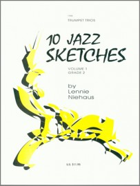 10 Jazz Sketches, Volume 1 (Digital Download Only)