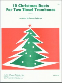 10 Christmas Duets For Two Tinsel Trombones (Digital Download Only)