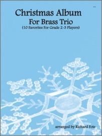 Christmas Album For Brass Trio (Digital Download Only)