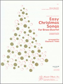 Easy Christmas Songs For Brass Quartet (Digital Download Only)