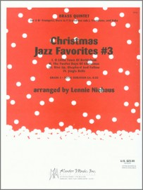 Christmas Jazz Favorites #3 (Digital Download Only)