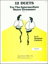 12 Duets For The Intermediate Snare Drummer (Digital Download Only)