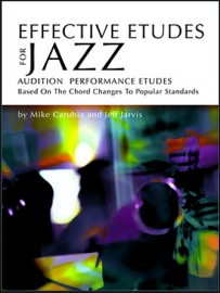 Effective Etudes For Jazz - Eb Alto Saxophone - Book with CD