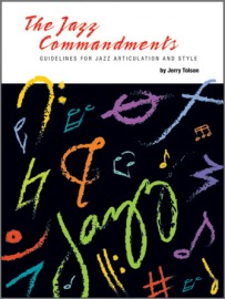 Jazz Commandments, The (Guidelines For Jazz Articulation And Style) - Eb Instruments with MP3s