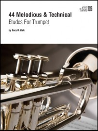 44 Melodious & Technical Etudes For Trumpet