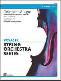 Telemann Allegro (Concerto For 2 Horns And Strings, TWV 52:Es1)