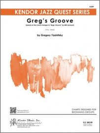 Greg's Groove (based on the chord changes to 'Bags' Groove' by Milt Jackson)