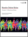 Kendor Debut Solos - Baritone B.C. with MP3s