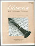 Classics For Clarinet Quartet - 2nd Bb Clarinet (Digital Download Only)