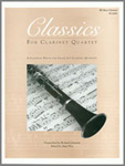 Classics For Clarinet Quartet - Bb Bass Clarinet (Digital Download Only)